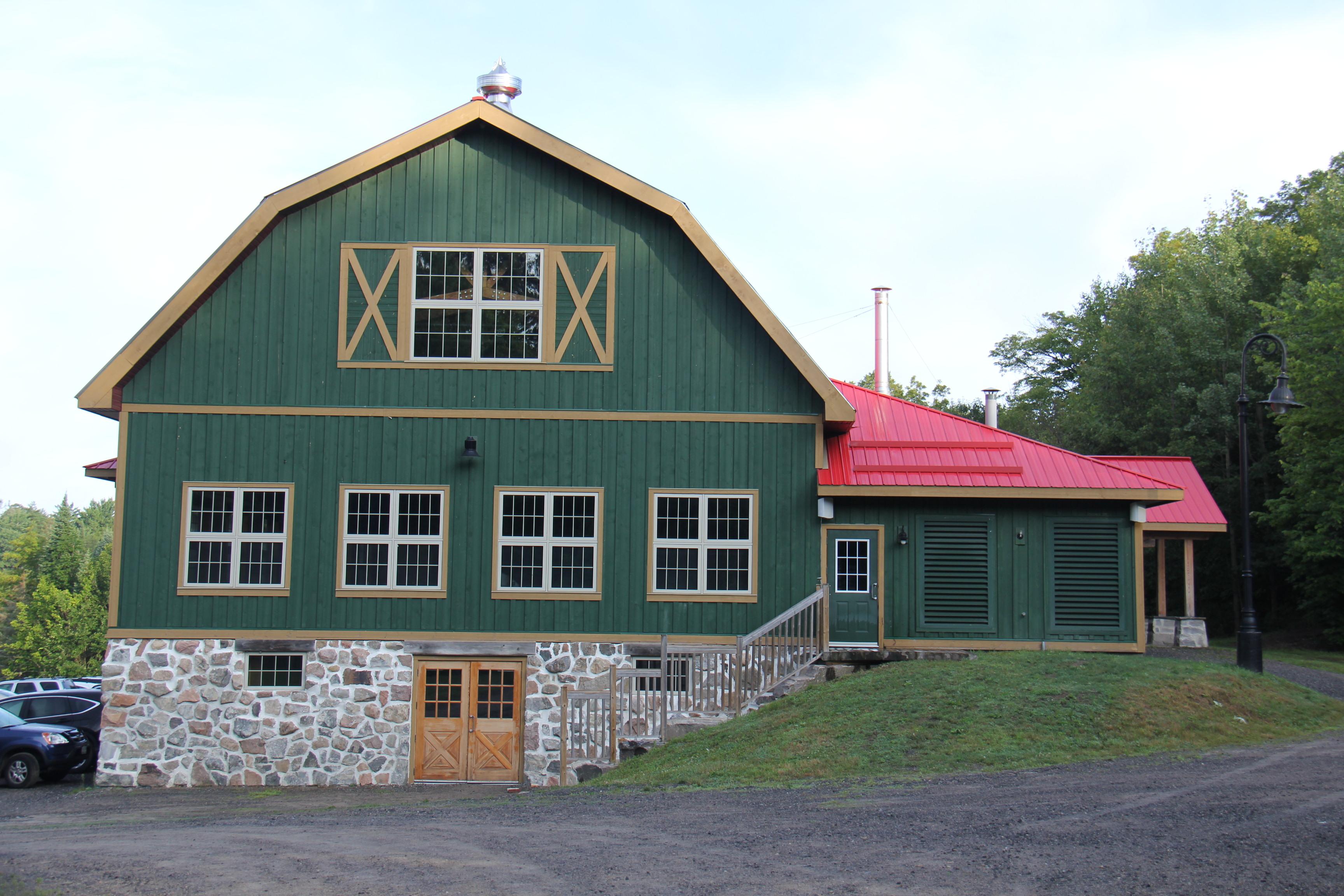 External view of The Barn at Ooch Muskoka